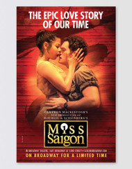 Miss Saigon Broadway Poster