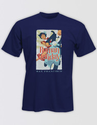 Roman Holiday Navy T-Shirt