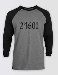 Les Miserables Unisex 24601 Baseball T-Shirt