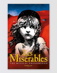 Les Miserables Window Card