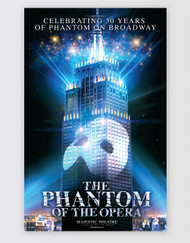 The Phantom of the Opera Broadway Poster - 30th Anniversary Limited Edition