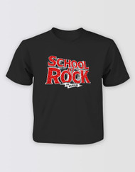 SCHOOL OF ROCK Girls Glitter Logo T-Shirt