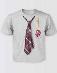 School of Rock the Musical Kids Tie Print T-Shirt