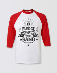 SCHOOL OF ROCK Adults 3/4 Sleeve Pledge Allegiance Top