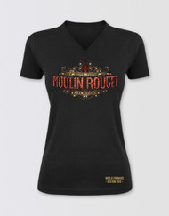 Moulin Rouge! the Musical Fitted V-Neck Logo T-Shirt