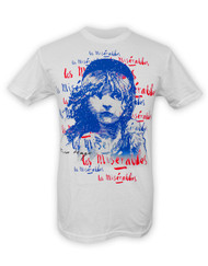Les Miserables US Tour Unisex Victor Hugo Signature T-Shirt Front