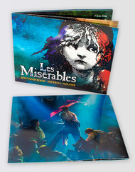 Les Miserables Broadway Souvenir Brochure
