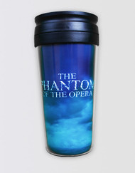 The Phantom of the Opera Travel Cup logo