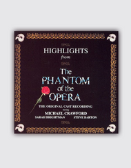 The Phantom of the Opera Broadway - Original Cast Highlights CD (1 disc)