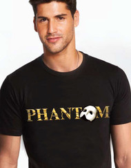 The Phantom of the Opera US Tour Black Phantom Tee