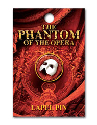The Phantom of the Opera US Tour Lapel Pin