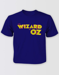 The Wizard of Oz Kids Logo Glitter Tee