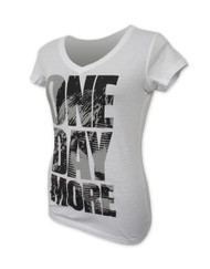 "Les Miserables US Tour Ladies ""One Day More"" V-Neck T-Shirt Left"