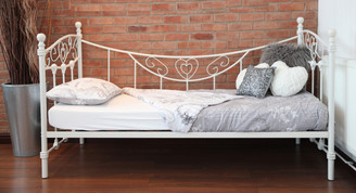 THE ANTOINETTE FRENCH STYLE METAL DAY BED