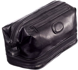 Faux Leather Mens Toiletry Bag