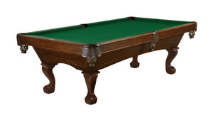 Allenton- 8 foot, Chestnut finish Ball & Claw Leg
