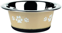 Classic Pet Products Posh Paws Cat Dish, 240 ml, Natural