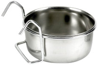 Classic Pet Products Hook-on 300ml Stainless Steel Coop Cup