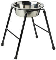 Classic Pet Products Single Feeder Stand with Bowl, 300 mm/ 1600 ml