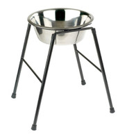 Classic Pet Products Single Feeder Stand with Bowl,  370 mm/ 2500 ml