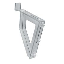 Leaning Slatwall Bracket for Modular Brochure System