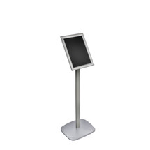 """8.5""""W x 11""""H Snap-Frame Sign holder with Metal Stand"""