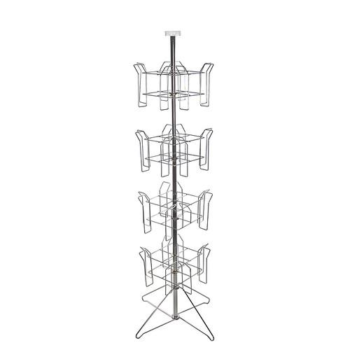 Wire Literature Holder | 16 Pocket Wire Literature Holder Floor Stand For 8 5 X 11 Paper