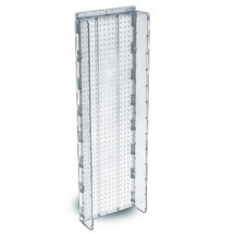 """13.5""""W x 44""""H Pegboard Powerwing Display - (CLEAR ONLY)"""
