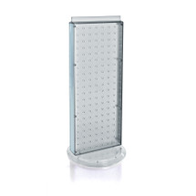 """Revolving 8""""W x 20.625""""H Pegboard Counter Display"""