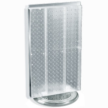 """Revolving 13.5""""W x 22""""H Pegboard Counter Display"""