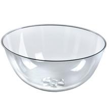 "Clear Plastic Bowl 16"" Diameter x 8"" Deep"