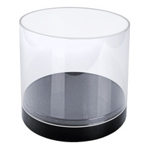 """10"""" Deluxe Clear Cylinder Showcase"""