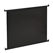 Queuing System 2-Sided Pegboard Panel Wall