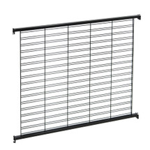 Queuing System Wire Slatwall Panel Wall
