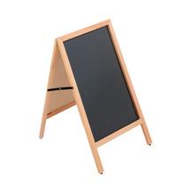 Wood A-Frame Chalkboard