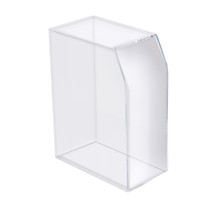 "Acrylic Desktop Magazine and File Holder 5""W x 8.75""D x 12.25""H"