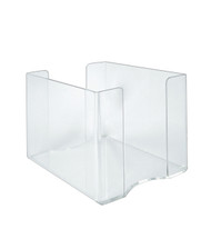 "Clear 3/16"" Thick Acrylic Paper Ream Holder: 9""W x 11.25""D x 7.5""H"