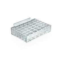 36 Large Compartment Cosmetic Tray for SLATWALL ONLY