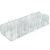 12-Cup Tray for Pegboard or Slatwall