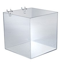 "8"" Cube Bin for Pegboard or Slatwall"