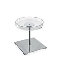 Acrylic & Chrome Counter Disc Display