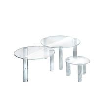 3-Piece Acrylic Small Round Riser Set