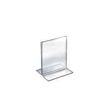 """5""""W x 7""""H Double-Foot Two Sided Sign Holder"""