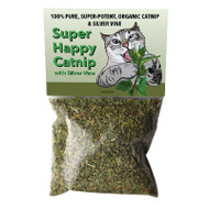 Super Happy Organic Catnip with Silver Vine