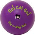 Go Cat Go Zig-N-Zag Ball
