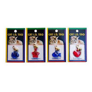 Cat ID Tags - Single (Assorted)