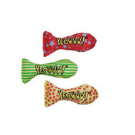 Yeowww! Stinkies Catnip-Filled Sardine Toy - Single (Assorted)