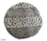 This image shows the Lynx side of the Muffin Blanket