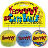 My Cats Balls Yeowww! Catnip Toys