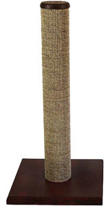 This is the standard Purrfect Post. Sisal material covers only the post.